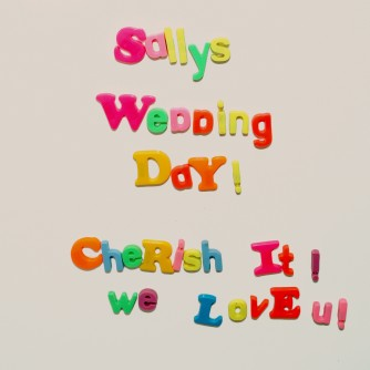 Sally's Wedding Day