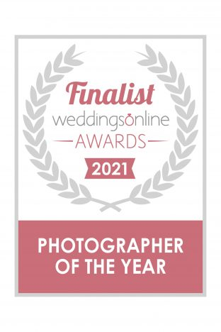 We've been nominated for the Weddings Online Awards 2021
