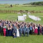 group photo seafield hotel wedding