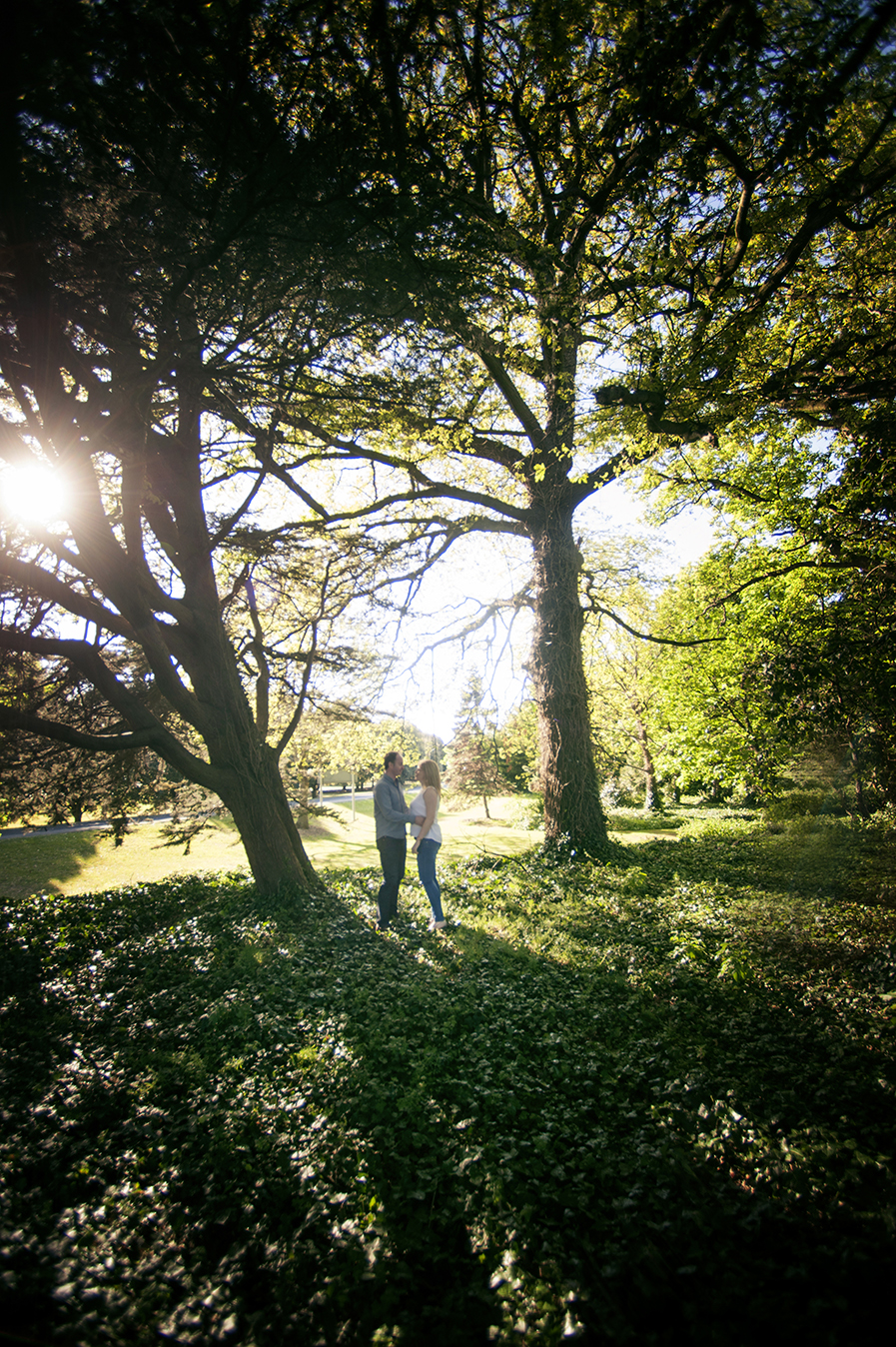 woodland engagement shoot dublin