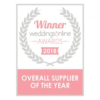 Wedding Supplier of The Year 2018