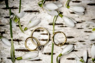 Spring Wedding Rings