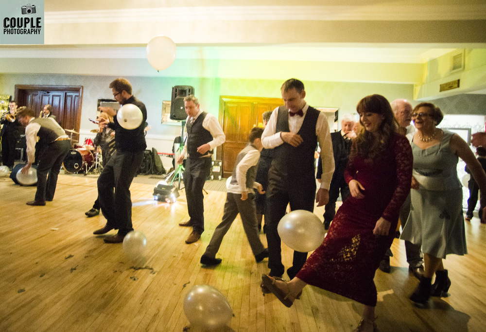 New years eve Irish wedding