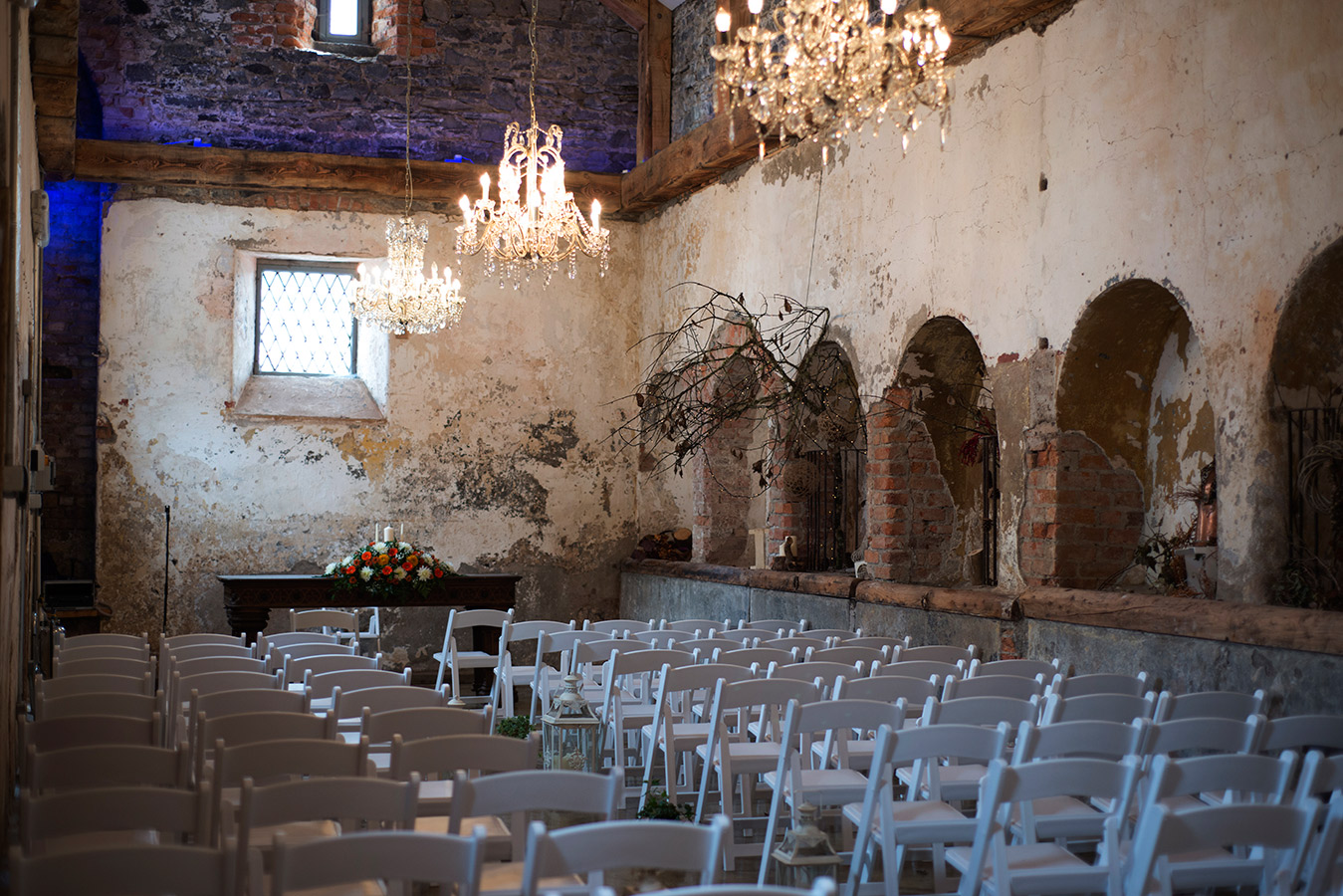 the ceremony room at kilkee castle