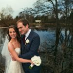 river shannon couple hug trees wedding photography
