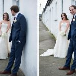 bride groom wedding photo white cottages limerick