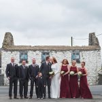 castle, durrow, wedding, bridal, party, photo, vintage