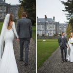 Castle Durrow,Wedding, garden, spring, photography, couple, bride,