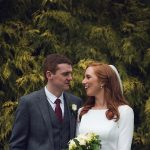 Castel Durrow Wedding bride groom
