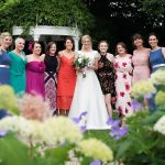 wedding guests, bride and friends, girls, wedding photography, friends of bride in keadeen hotel, keadeen hotel wedding, couple photography ireland