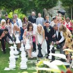cliff at lyons wedding, fun wedding guests photos, candid photography
