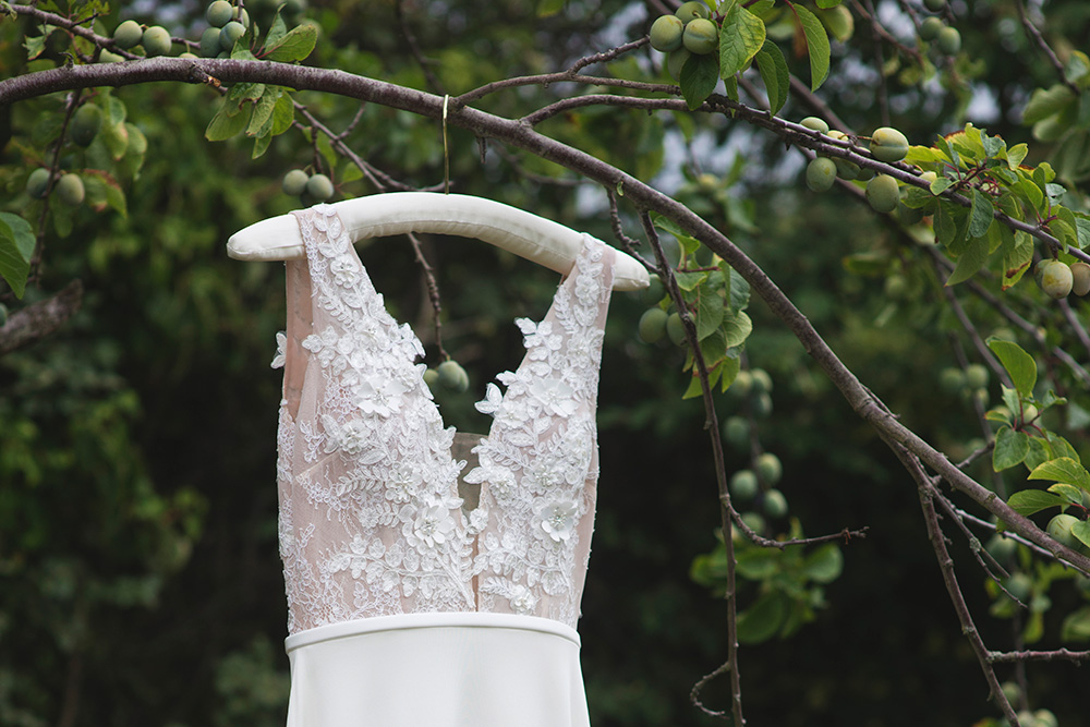 wedding dress for cliff at lyons wedding