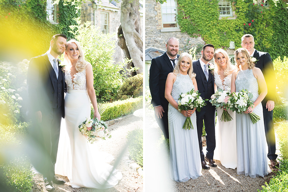 sunshine and summer wedding at cliff at lyons