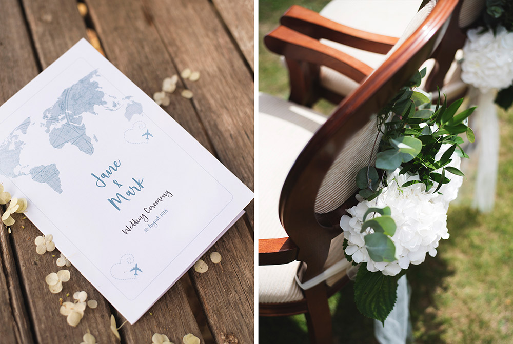wedding details outdoor ceremony tinakilly country house