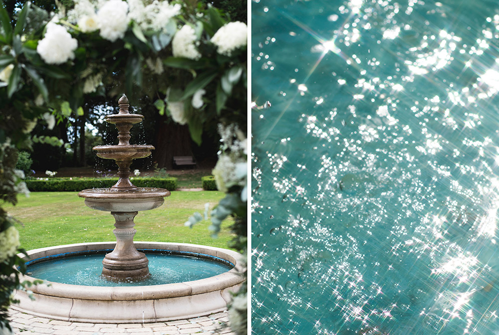 fountain wedding photos tinakilly country house wedding