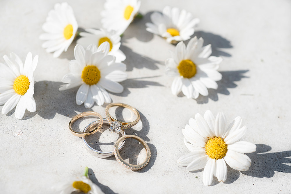 wedding rings at tinakilly country house