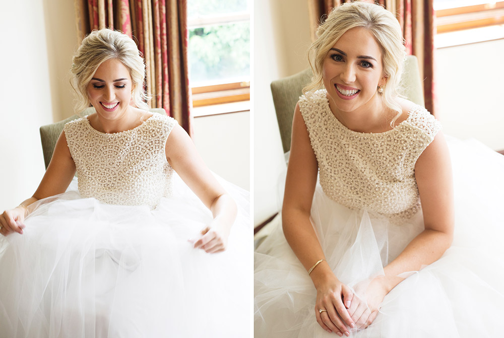 bride at tinakilly country house