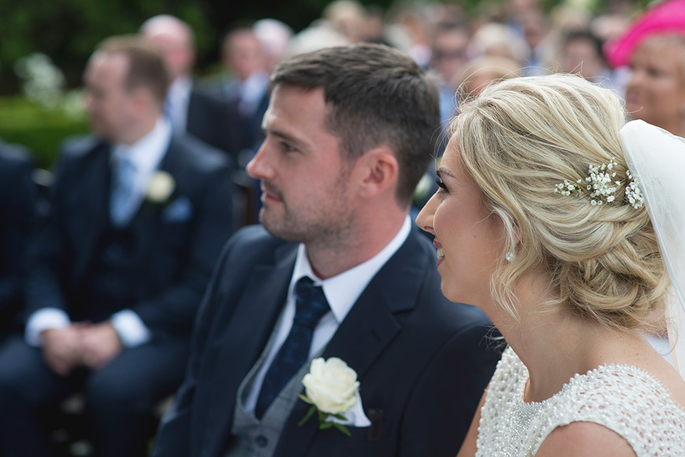 humanist ceremony tinakilly country house wedding