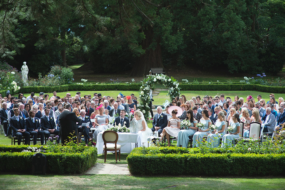 guests at tinakilly country house hotel wedding