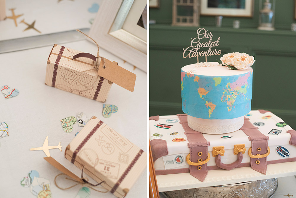 wedding details and favours at tinakilly country house wedding