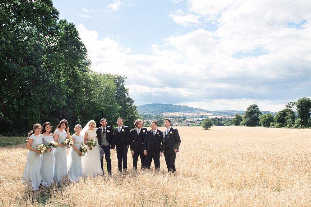 recomended wedding photographer tinakilly country house hotel wedding