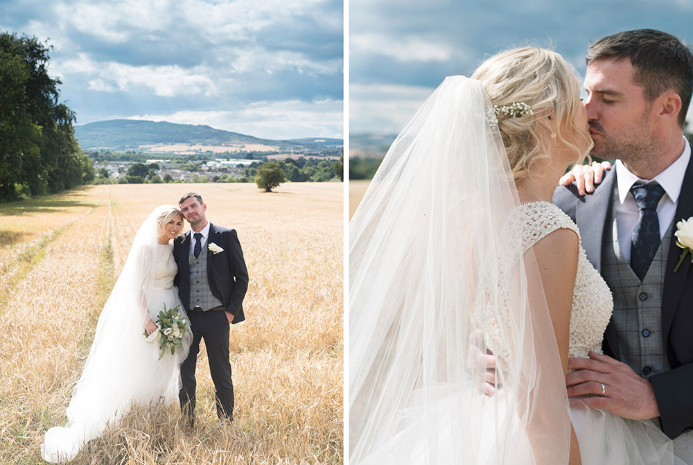 bride and groom at tinakilly country house hotel wedding