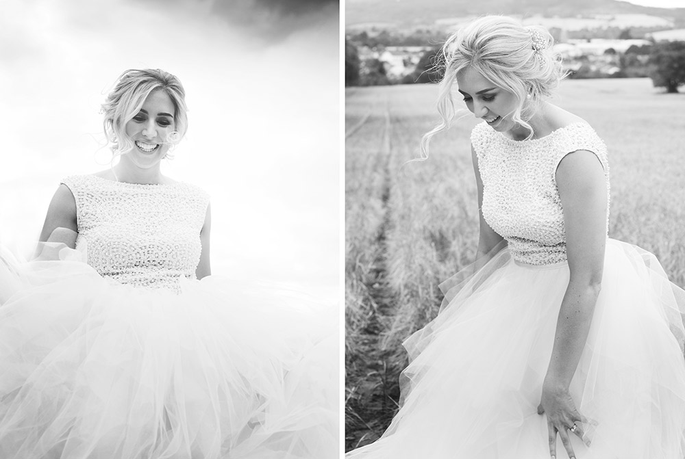 black and white wedding photography tinakilly country house hotel wedding