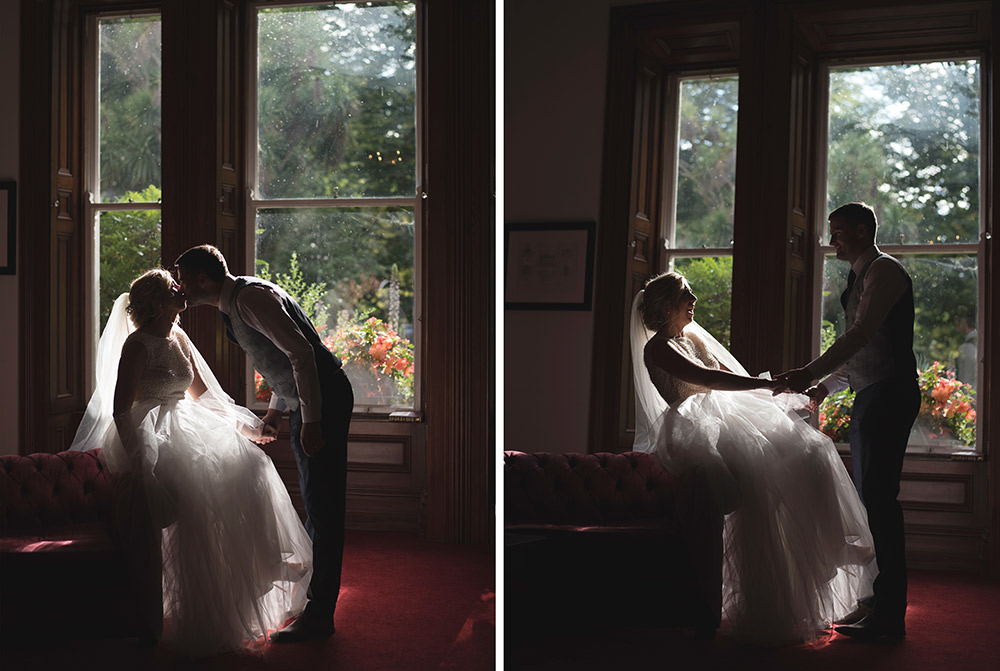 bridal portrait tinakilly country house hotel wedding