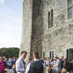 wedding guests, Kilkea Castle Wedding Photography