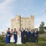 bridal party at kilkea castle, Kilkea Castle Wedding Photography