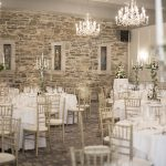 banquet room, Kilkea Castle Wedding Photography