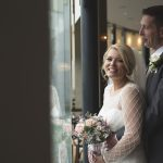 the bride and groom, Osprey Hotel Wedding