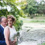 bride and groom druids glen, irish wedding photograph, couple photography