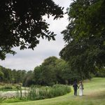 wedding couple irish scenery, druids glen wedding photos, golf course wedding, couple photography