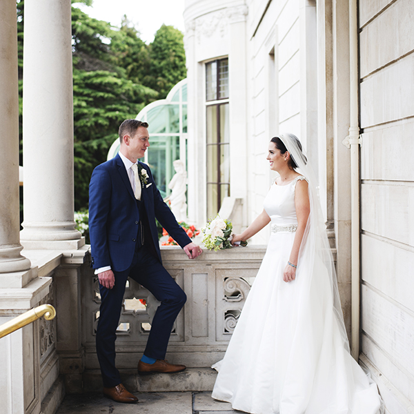 wedding at st helens hotel booterstown