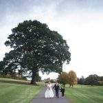 family photos at Cabra Castle Wedding