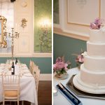 wedding cake at Durrow Castle Wedding