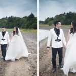 tulfarris hotel wedding by the lake in blessington