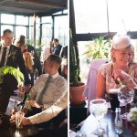 natural photos of guests mingling at Mount Druid Wedding