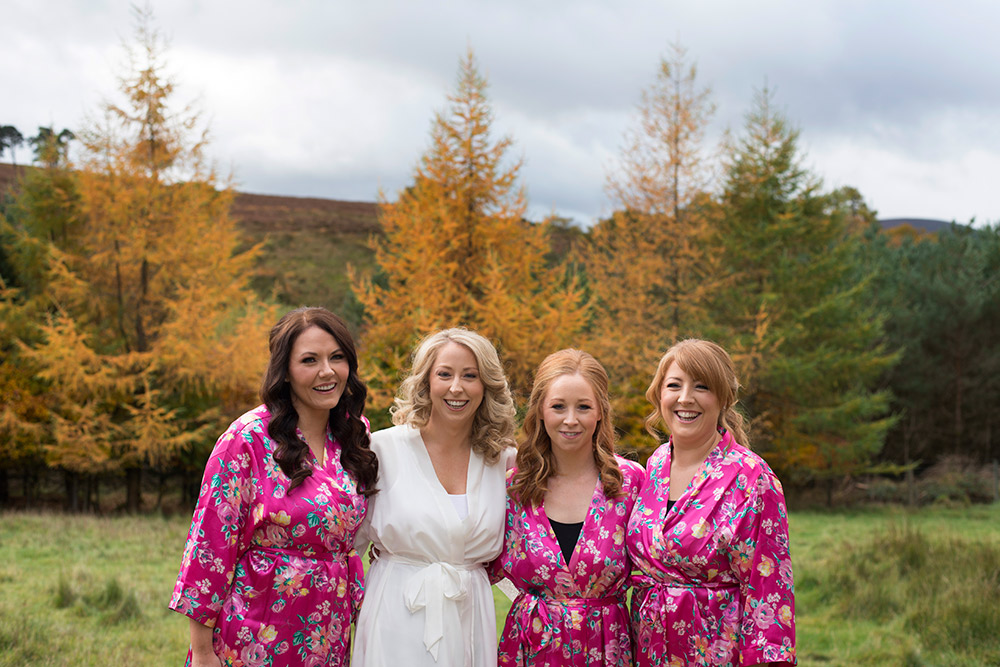 kippure estate wedding bridesmaid