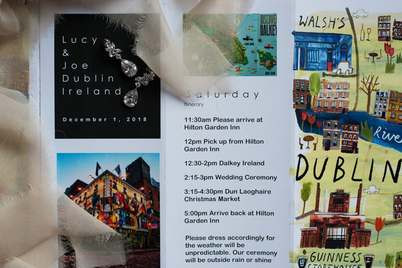 dublin city centre wedding invite elopement