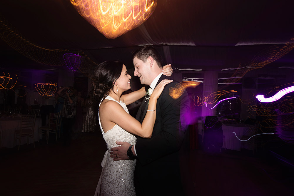 first dance at rathsallagh house wedding