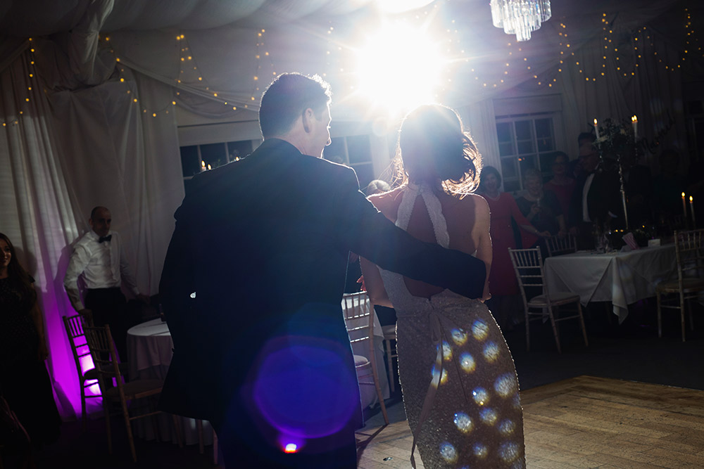 nighttime entertainment wedding rathsallagh house