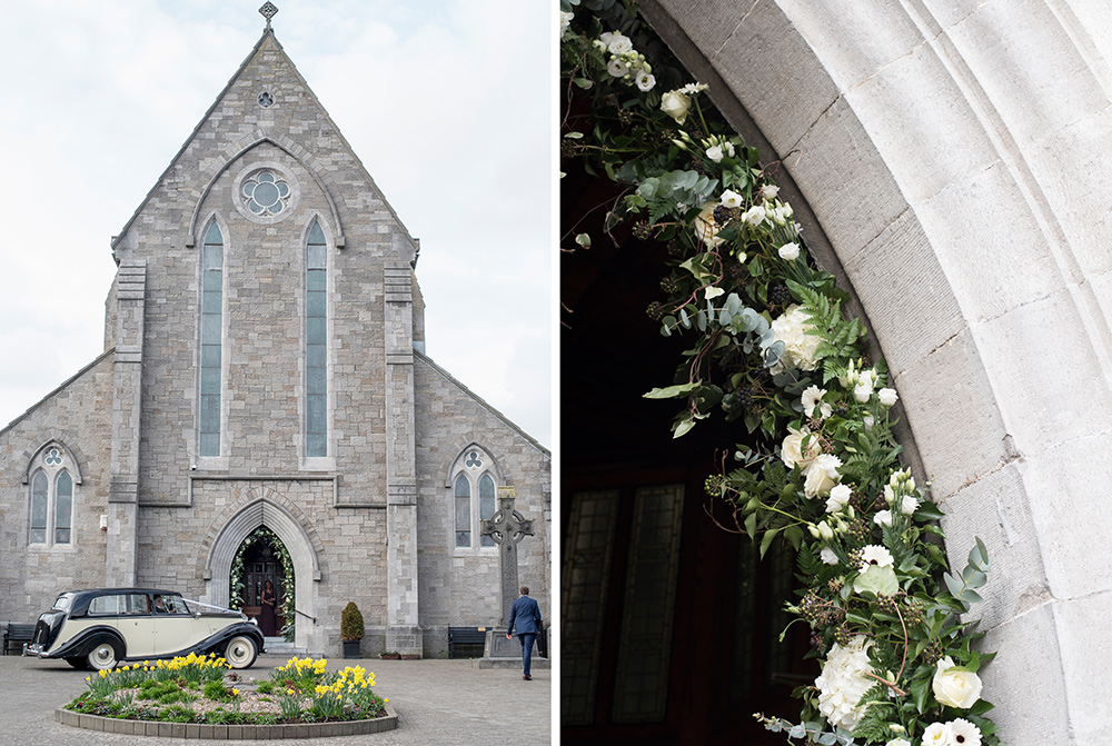 wedding at celbridge church