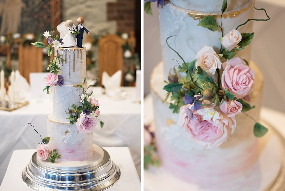 wedding cakes at barberstown castle