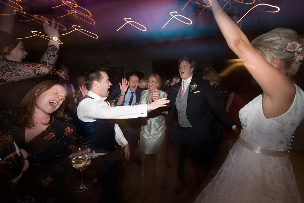 late night dance shots at wedding at barberstown castle