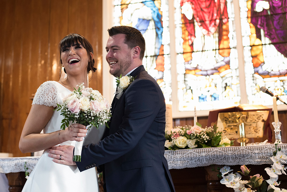 ceremony at sallins church kildare
