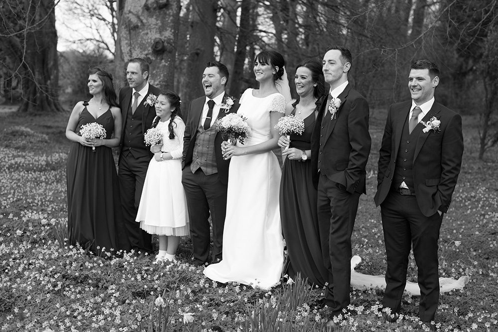 recommended wedding photographers rathsallagh house wedding