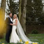 bride and groom daffodils rathsallagh wedding photography spring