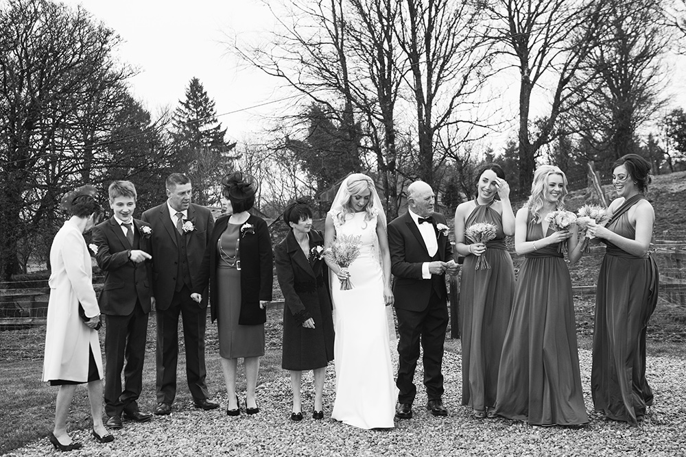 documentary wedding photographer in Wicklow